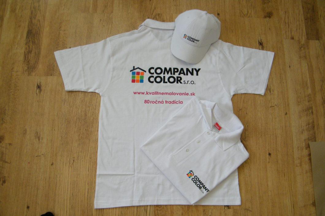 Company color tričko
