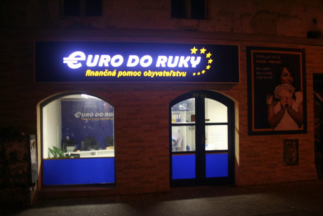 Euro do ruky