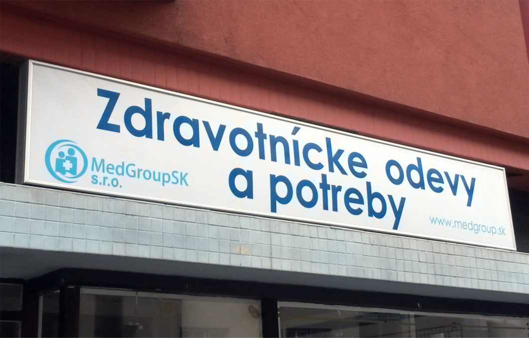 Zdravotnícke odevy a potreby Bratislava