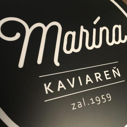 Kaviareň Marína