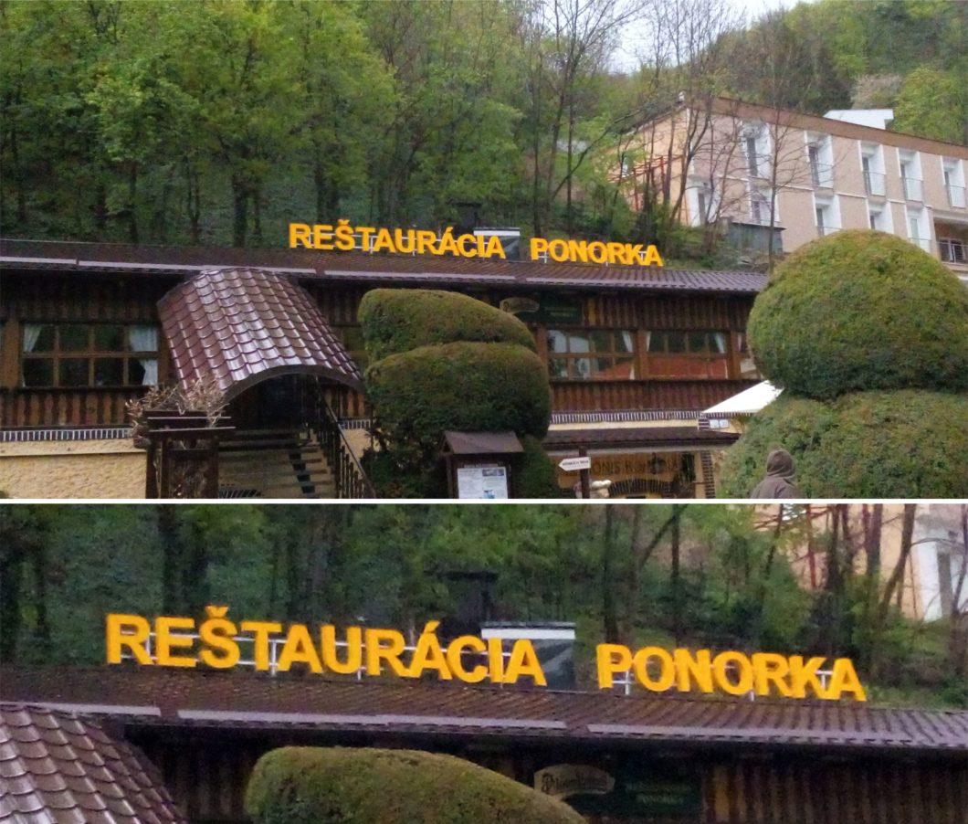 Reštaurácia Ponorka